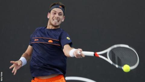 British number two Cameron Norrie