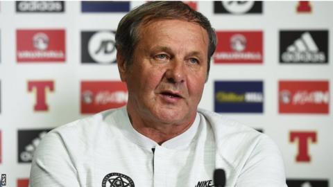 Slovakia manager Jan Kozak