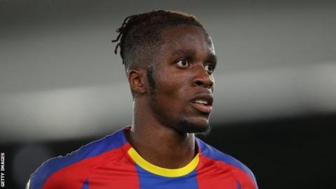 Wilfried Zaha stuns Huddersfield as Crystal Palace take all three points