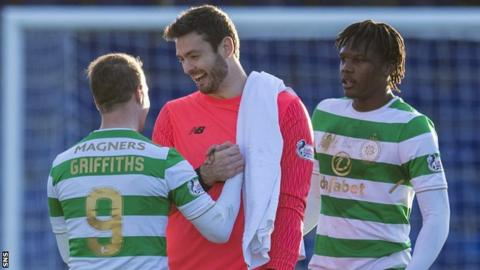Leigh Griffiths, Craig Gordon and Dedryck Boyata