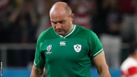 Ireland lost 19-12 to Japan having led 12-3 after 22 minutes