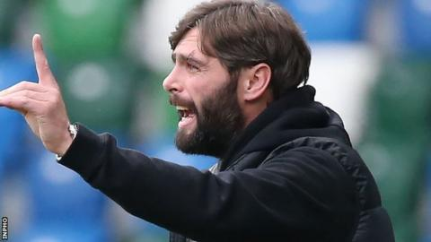 'We have to deal with it' - Glenavon boss Gary Hamilton reacts to players leaving