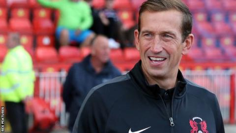 Leyton Orient manager Justin Edinburgh in hospital after falling ill