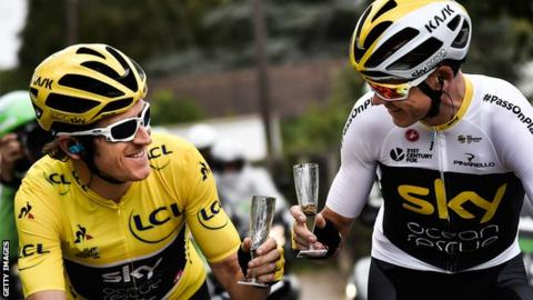Geraint Thomas and Chris Froome to ride Tour of Britain