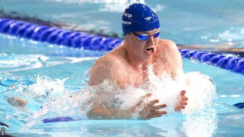 Murdoch set two Scottish records at the national short course championships