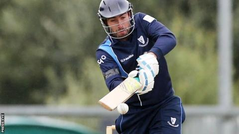 Ireland and Leinster Lightning batsman Andrew Balbirnie