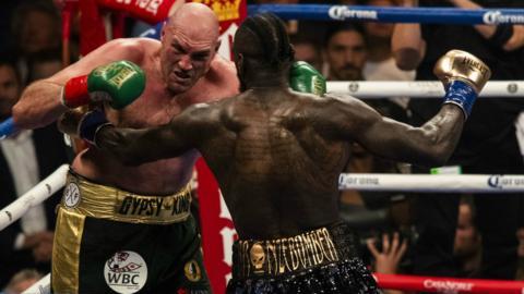 Tyson Fury v Deontay Wilder I