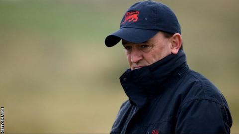 Walker Cup captain Nigel Edwards