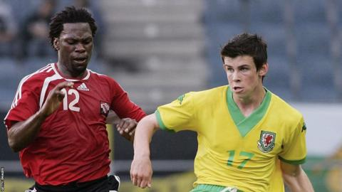 16-year-old Gareth Bale made his debut as Wales' youngest international in a 2-1 win over Trinidad & Tobago in 2006.