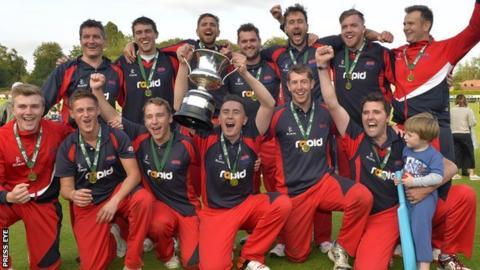 Waringstown won the Irish Senior Cup final