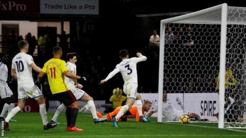 Kasper Schmeichel own goal