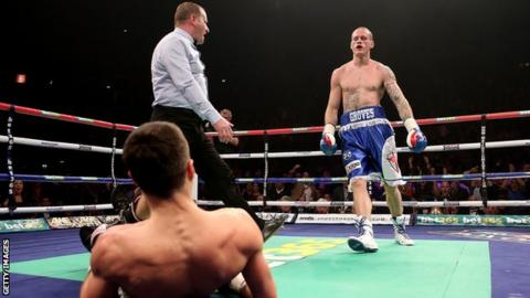 Groves floored Froch inside a round and looked on course for a massive upset in 2013