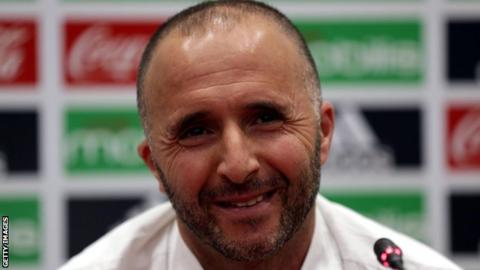 Algeria coach Djamel Belmadi