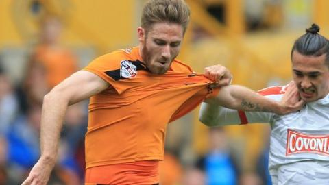 Wolves winger James Henry