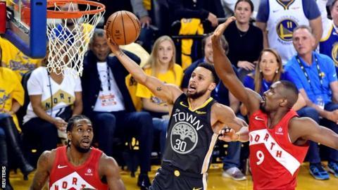 Golden State Warriors and Toronto Raptors