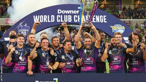 Melbourne Storm beat Leeds Rhinos in World Club Challenge