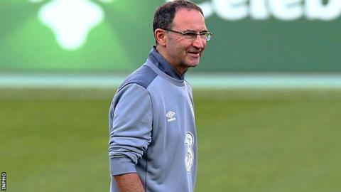 Republic of Ireland manager Martin O'Neill tells his players not to fear world champions Germany
