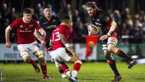Edinburgh will now take on Munster later in the month