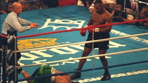 Mike Tyson v Peter McNeeley Las Vegas 1995