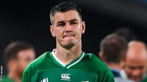 Johnny Sexton: Ireland fly-half says it will take 'a long time' to get over World Cup exit