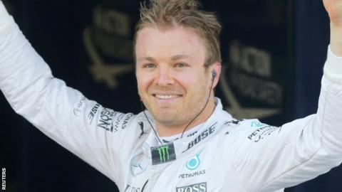 Rosberg has won five of the opening 10 races in 2016