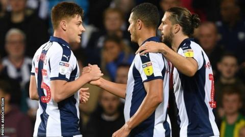 On-loan Leicester City youngster Harvey Barnes (left) played a big part in the Baggies' early season form