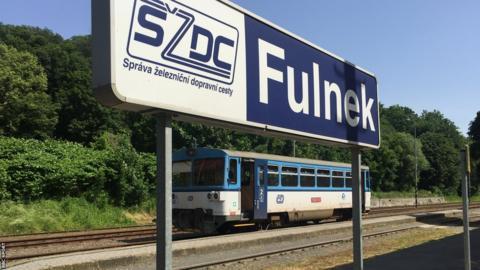 Fulnek train station
