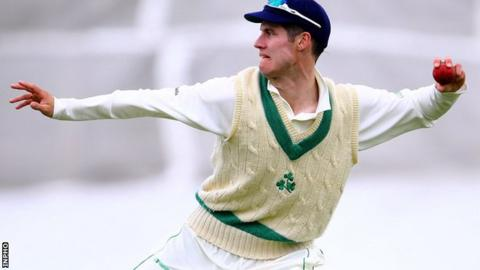 George Dockrell took the final two Namibia wickets