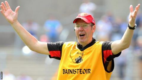 Mourne manager Eamonn Burns will hope for an improved 2017 season