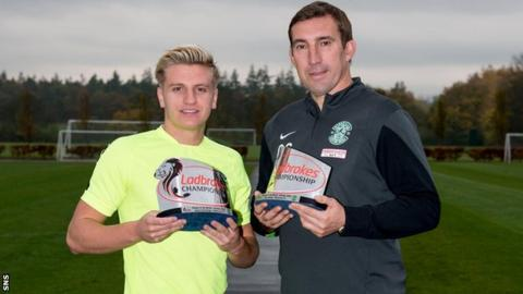 Jason Cummings and Alan Stubbs