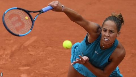 Keys defeats Putintseva, reaches French Open semis