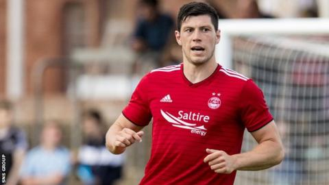 Scott McKenna is currently sidelined by a hamstring injury