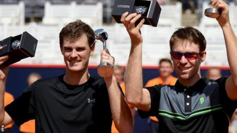 Jamie Murray and John Peers