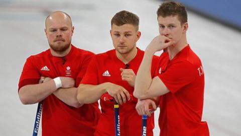 Curling - GB men v USA