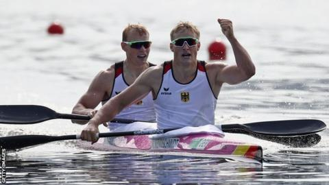 Germany's Max Rendschmidt and Marcus Gross