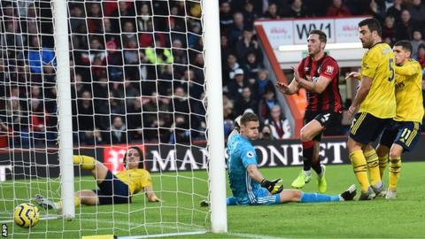 Bournemouth had lost six of their previous seven league games