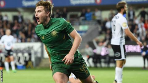 James Forrest scored the only goal in last season's qualifying meeting with Rosenborg