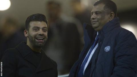 Amit Bhatia and Tony Fernandes