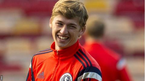 Scotland Under-21 midfielder Ryan Gauld