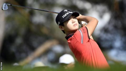 Park Sung-hyun wins the Canadian Pacific Women's Open