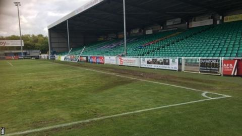 Eastleigh pitch