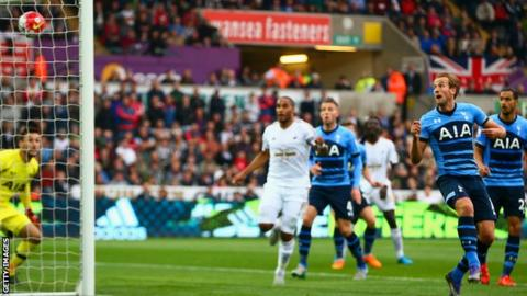 Harry Kane scores an own goal