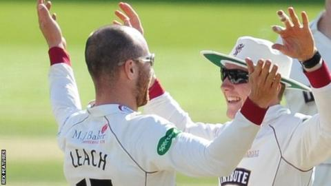 Dom Bess and Jack Leach