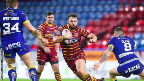 Paul Clough has scored two tries in 33 appearances for Huddersfield since his arrival from Bradford Bulls