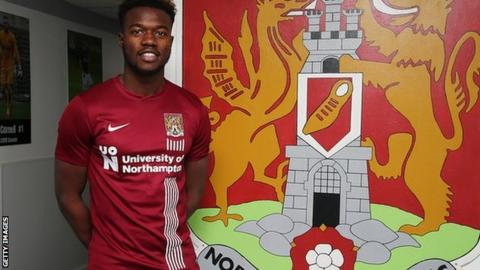 Gboly Ariyibi could make his Cobblers debut against MK Dons, with whom he spent the first half of this season on loan, scoring seven times