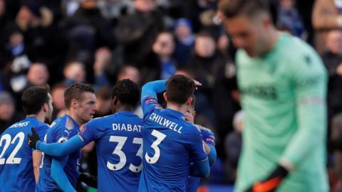 Leicester Goal