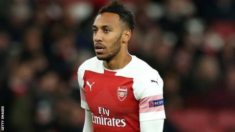 Arsenal and Gabon's Pierre-Emerick Aubameyang