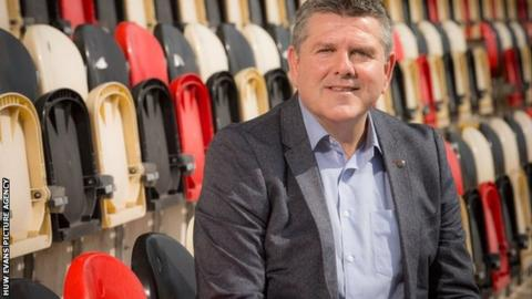 Mike Davies as worked with multi-national company B&Q for more than 30 years before joining the Dragons