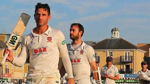Essex captain Ryan ten Doeschate
