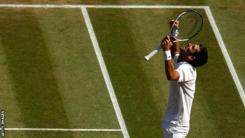 Novak Djokovic wins Wimbledon